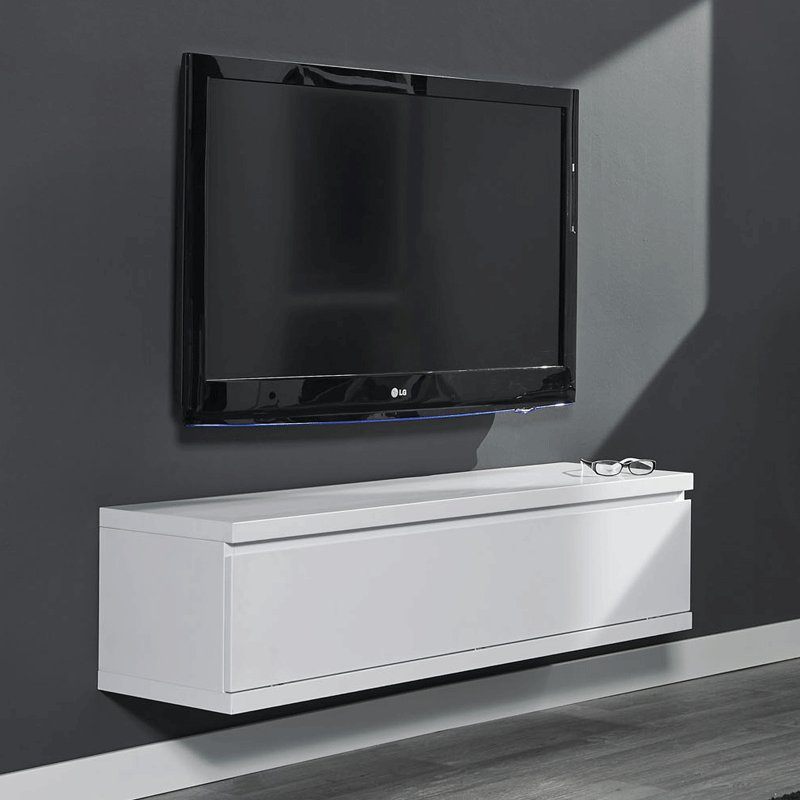 Tv meubel hangend giani laret 120 m - Wit badkamer design meubels ...