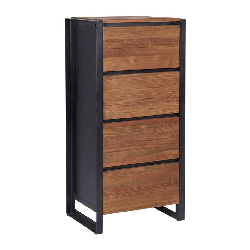 Wonderlijk d-Bodhi Fendy | Industriele ladekast van hout | FD230210 | LUMZ BK-01