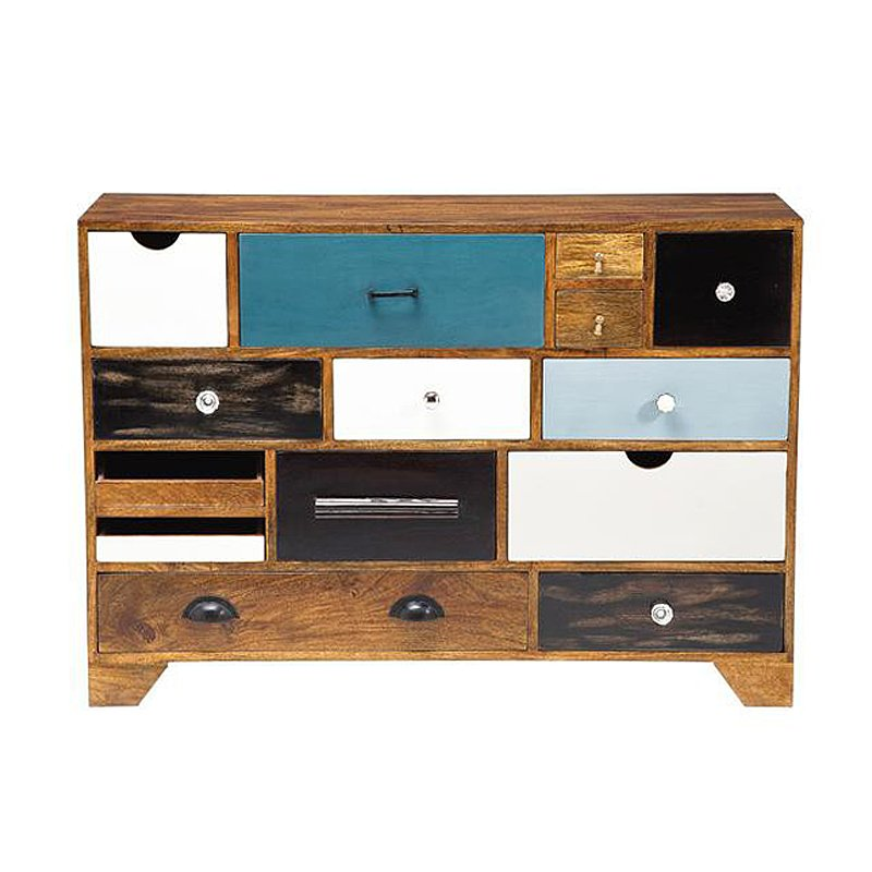 Design retro dressoir Mali Blue 14D