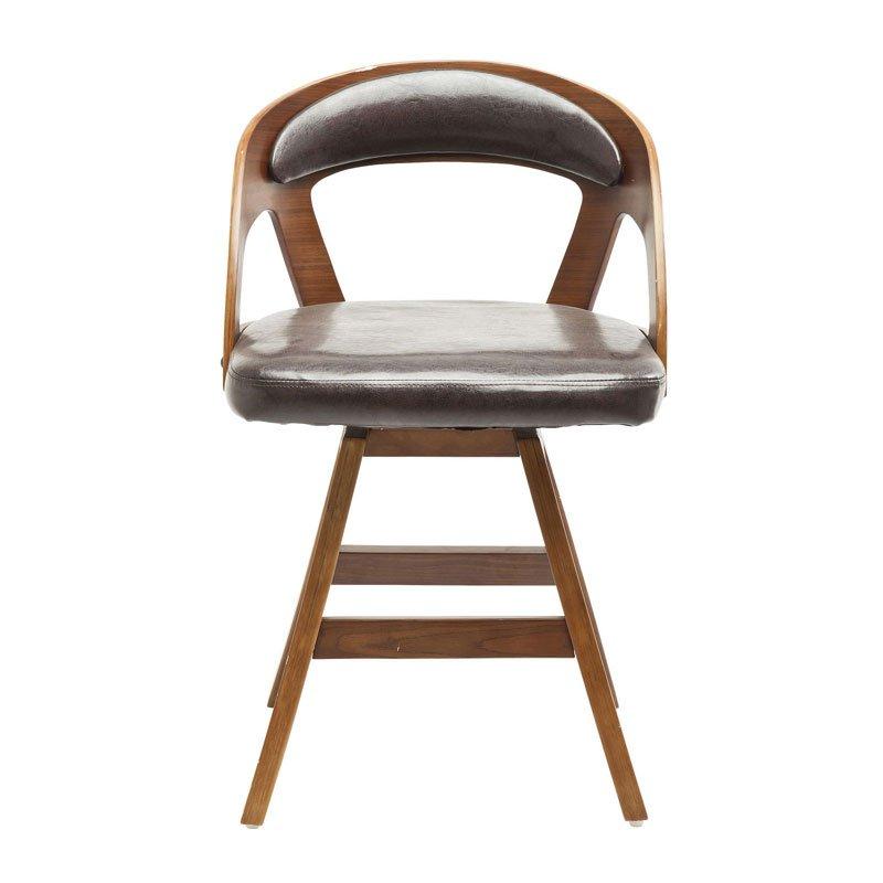 Draaibare vintage stoel Manhattan