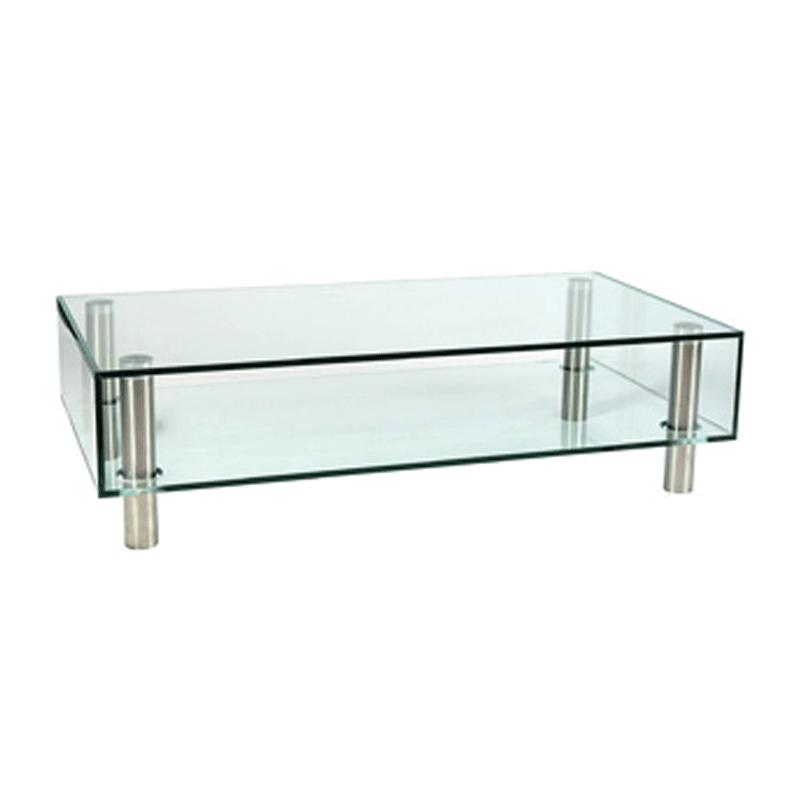 Glazen Salon Tafel.Glazen Salontafel Adele 4 Kopen Onlinedesignmeubel Be