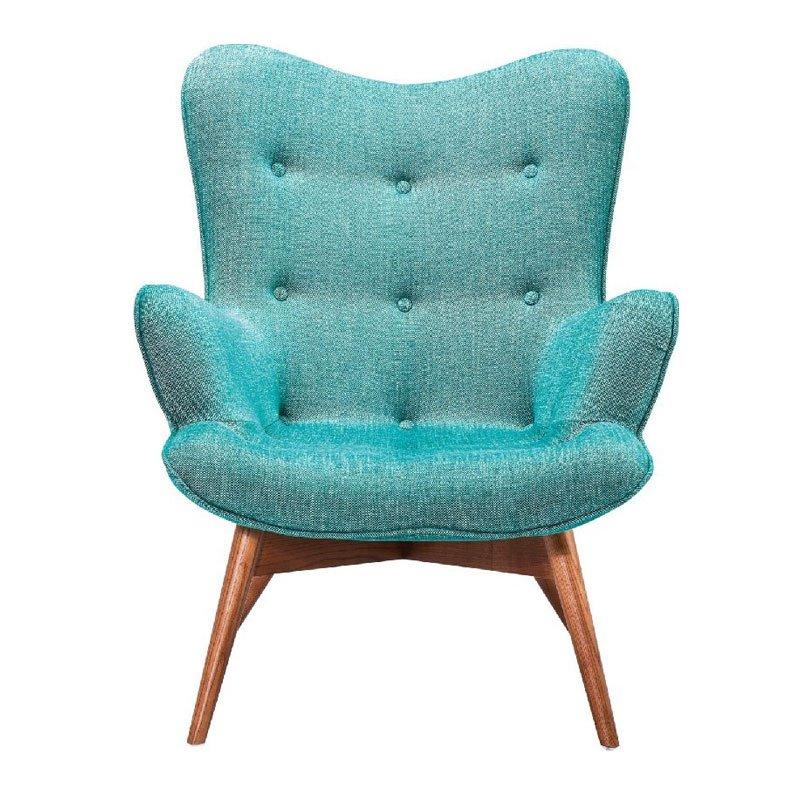 Design fauteuil groen