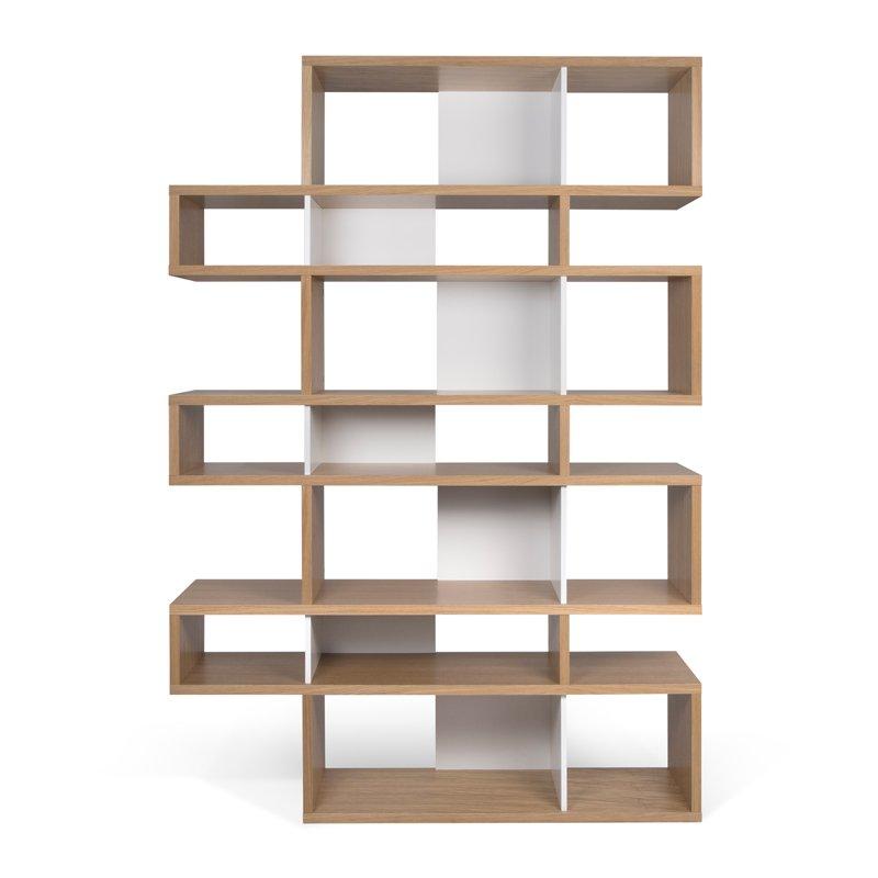 stunning hoge design boekenkast eikenwit with boekenkast design