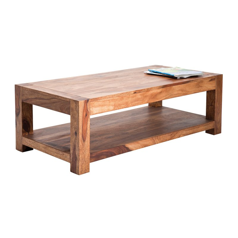 Houten salontafel Authentico 120