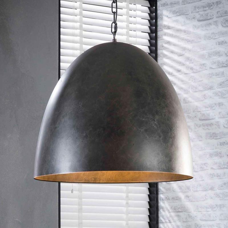 Industriele metalen hanglamp