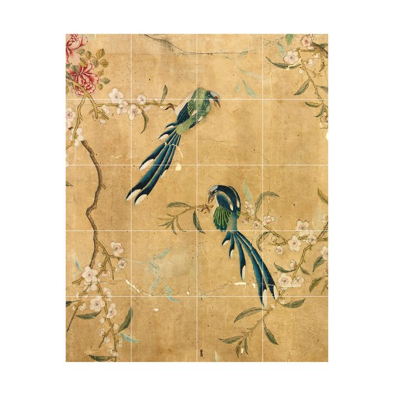 Wanddecoratie met vogels