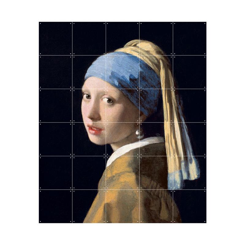 Wanddecoratie Vermeer