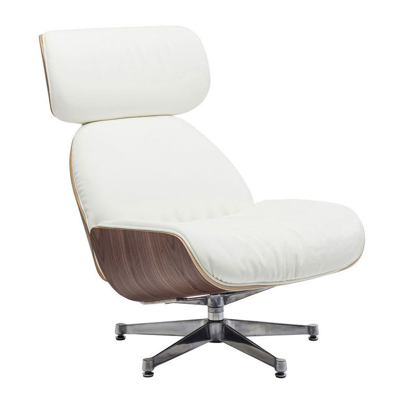Witte Design Fauteuil.Witte Comfortabele Fauteuil