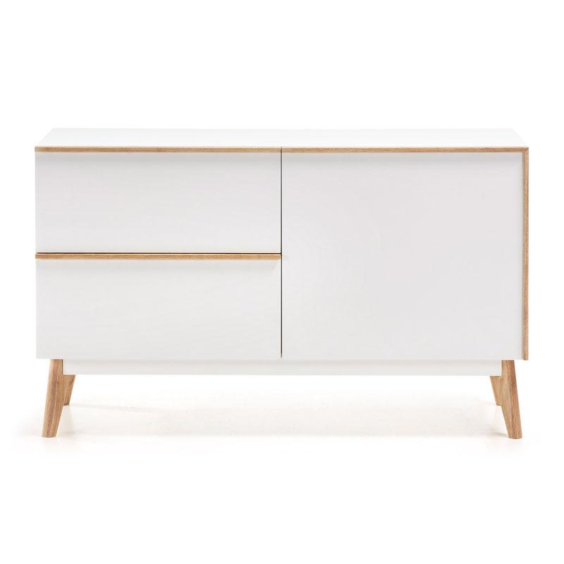 Witte Dressoir Kasten.Kave Home Melan Design Dressoir Wit Laforma Meety Y002l05 Lumz