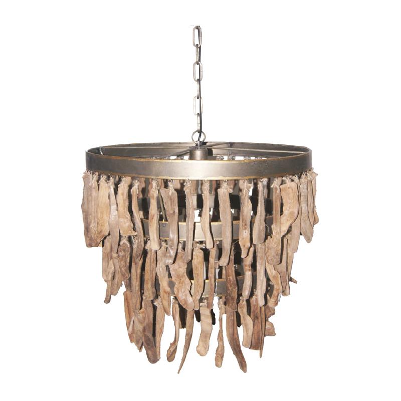 ptmd branch | hanglamp bruin met hout | lumz