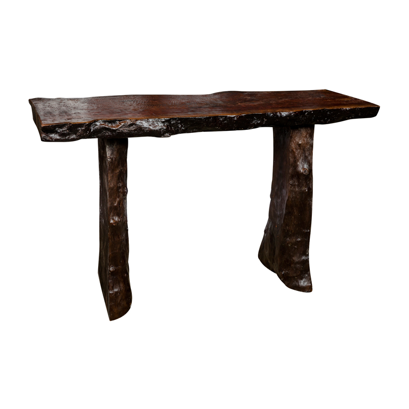 Side Table Donker Hout.Sidetable Van Donker Hout