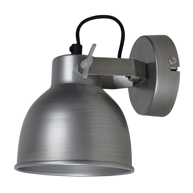 Urban interiors industrial industriele stijl wandlamp l for Industriele stijl