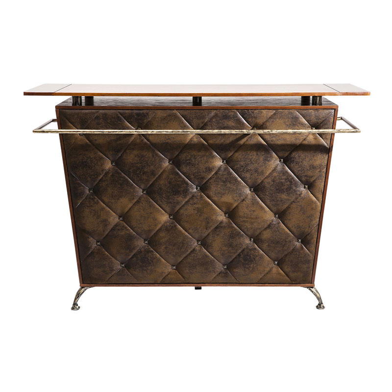 Vintage bar in Chesterfield design 170 cm