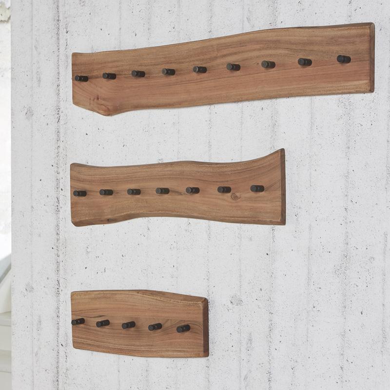 Wandkapstok hout 5