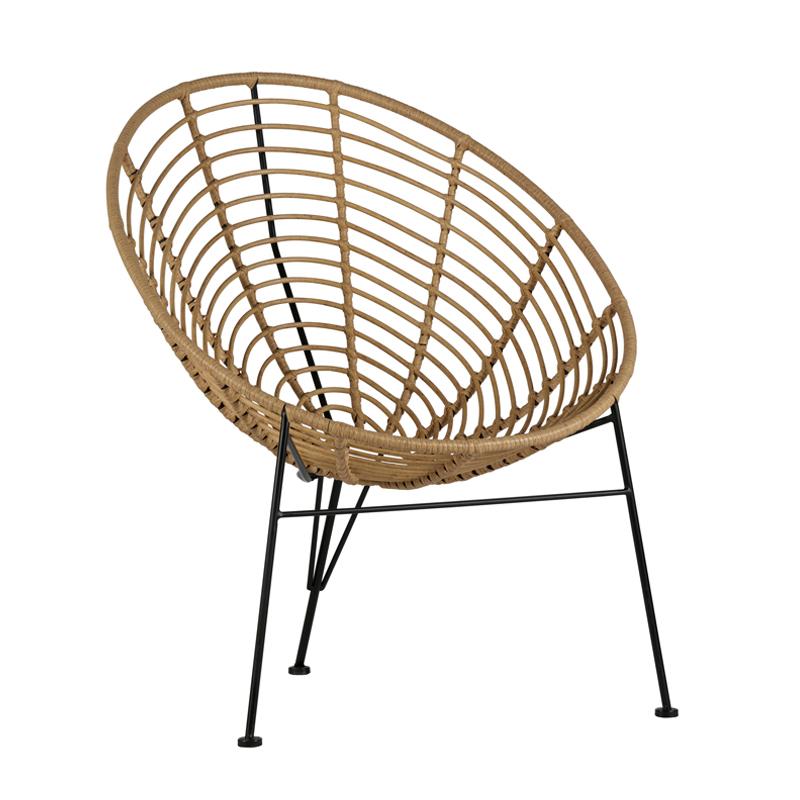 Loungestoel voor het terras