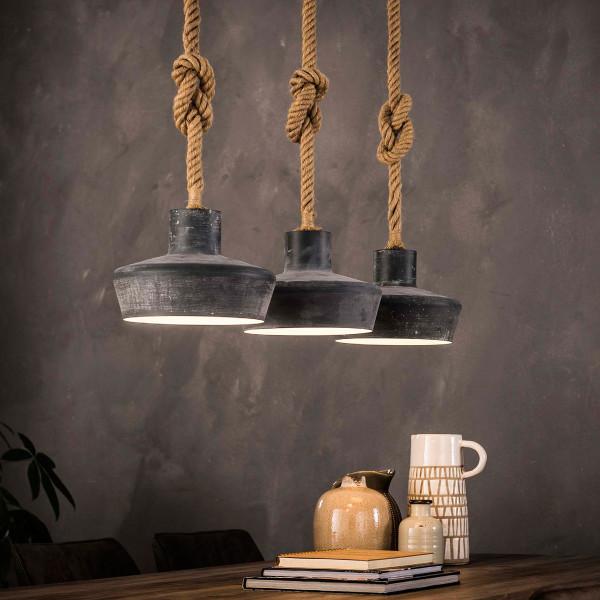 Industriele hanglamp betonlook