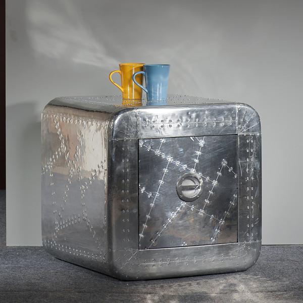 Aluminium nachtkastje