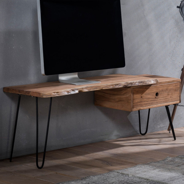 Boomstam tv meubel met lade