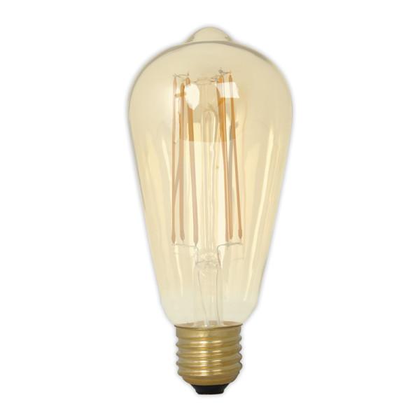 Peervormige kooldraad LED-lamp