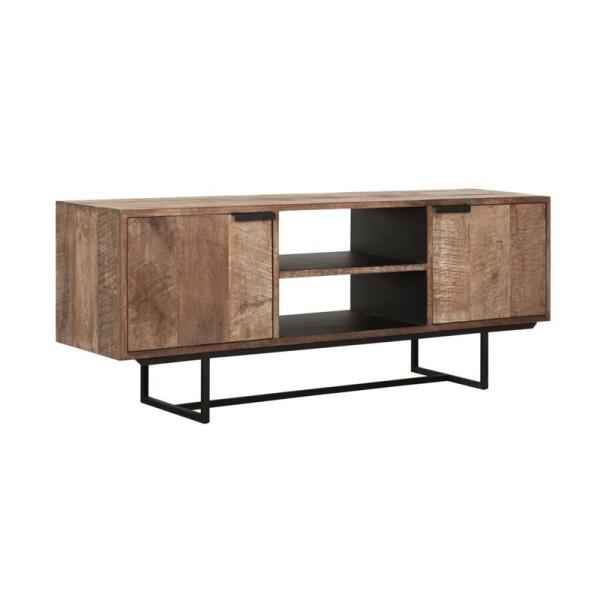 TV-meubel van teakhout