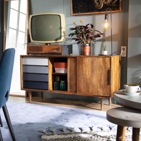 Design dressoir mangohout