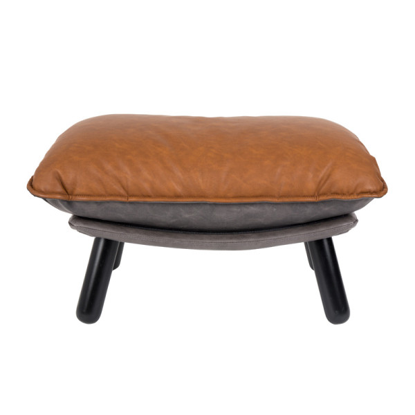 Design hocker bruin