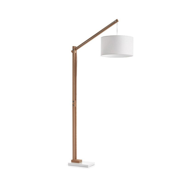 Moderne vloerlamp wit