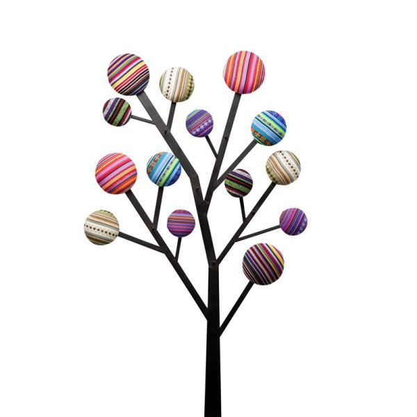 Design wandkapstok Bubble Tree