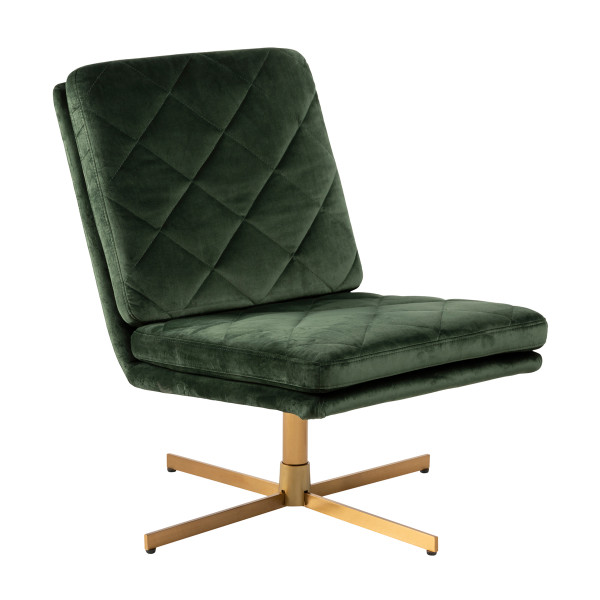 Draaibare fauteuil fluweel