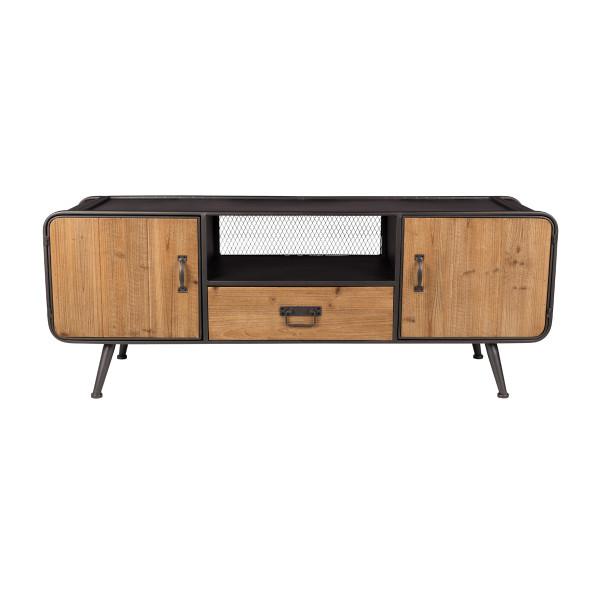 Vurenhouten tv-meubel