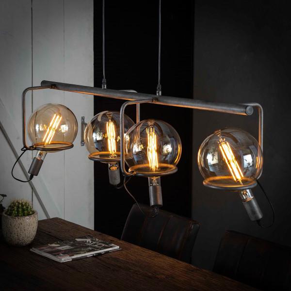 Eettafel hanglamp met steunringen