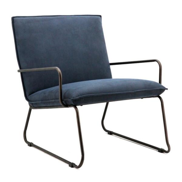 Authentieke fauteuil van stof