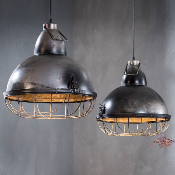 Industriele dubbele rasterhanglamp