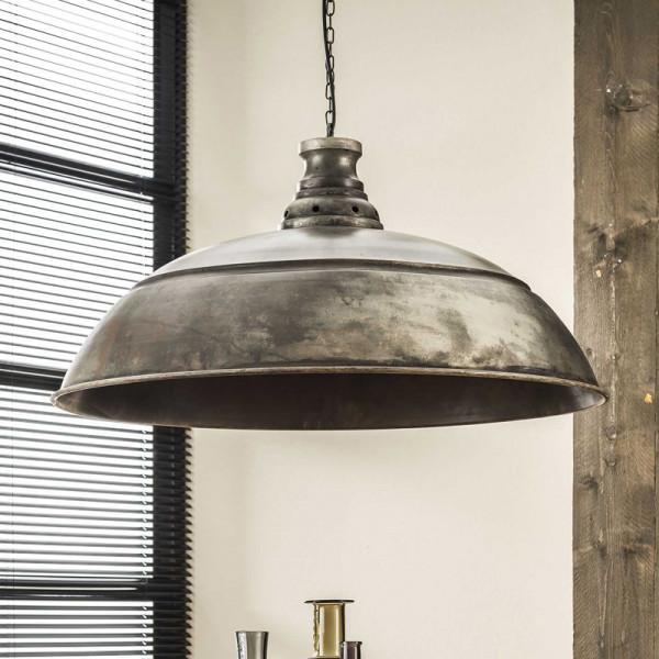 Grote industriele metalen hanglamp