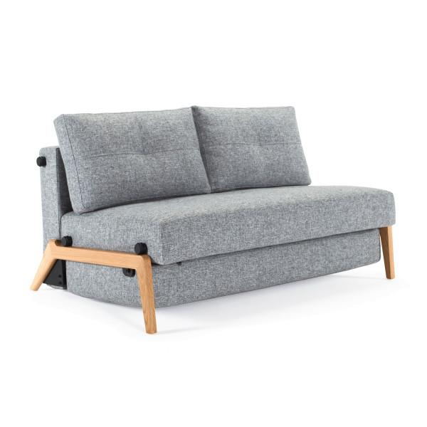 Design slaapbank met hout