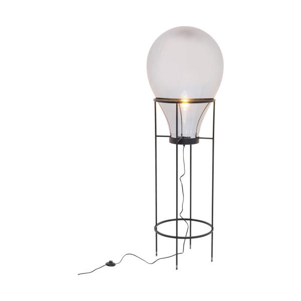 Peervorm design vloerlamp 158 cm