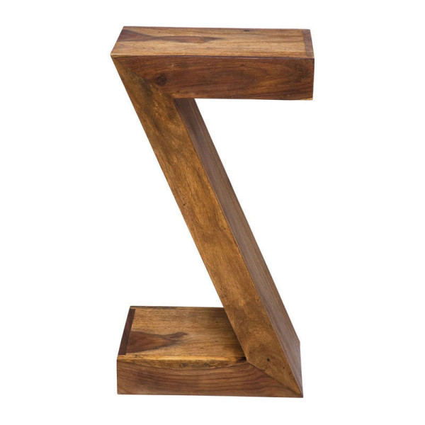 Bijzettafel in lettervorm