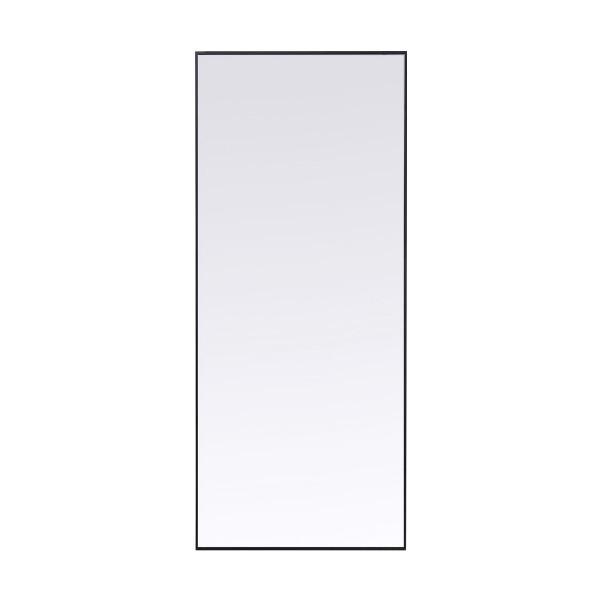 Grote spiegel zwart 180x60 cm