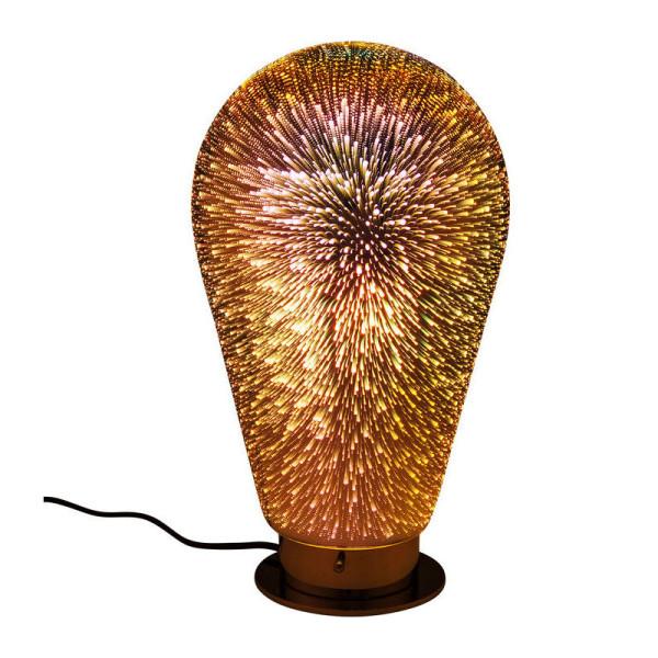 Tafellamp met vuurwerk-effect