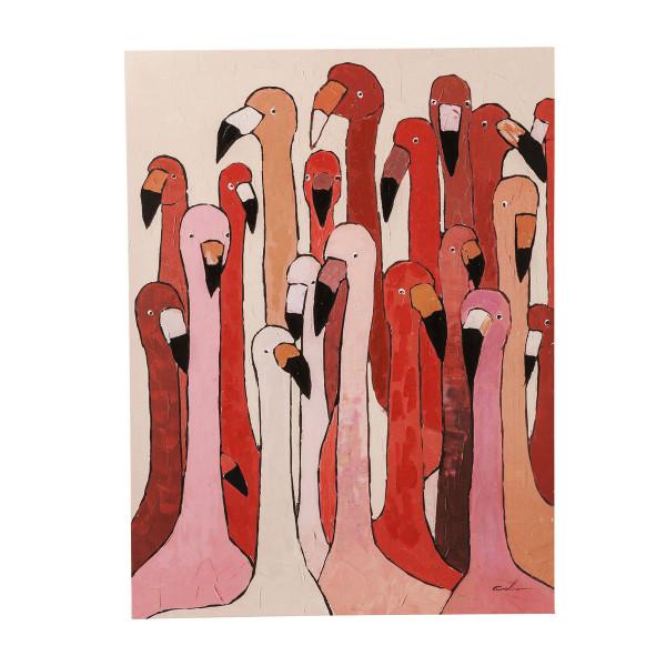 Schilderij roze