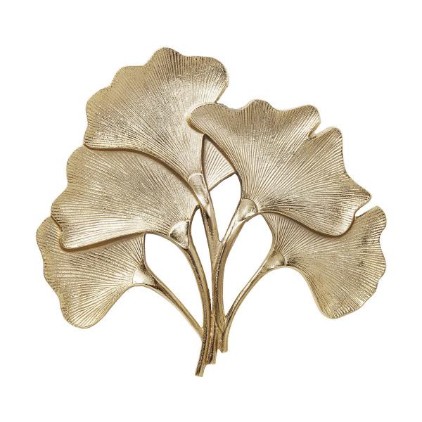 Gouden ginkgo bladeren