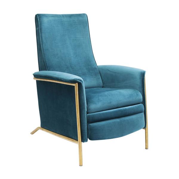 Verstelbare stoel fluweel
