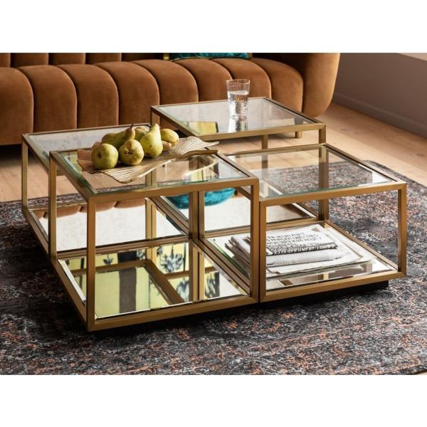 Gouden salontafelset