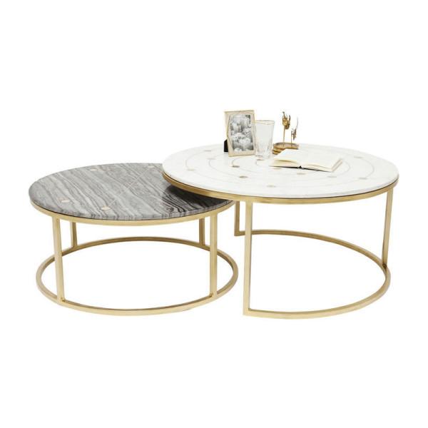 Marmeren salontafelset