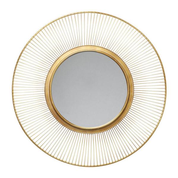 Authentieke ronde spiegel