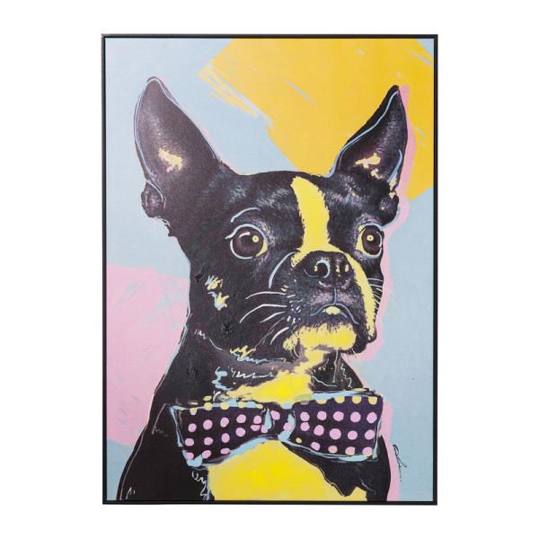 Hond Warhol stijl