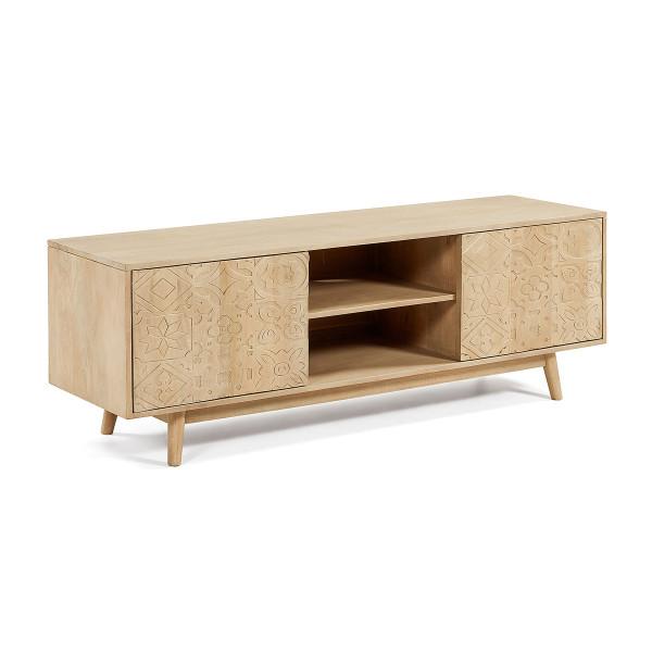 Massief mangohouten tv-meubel