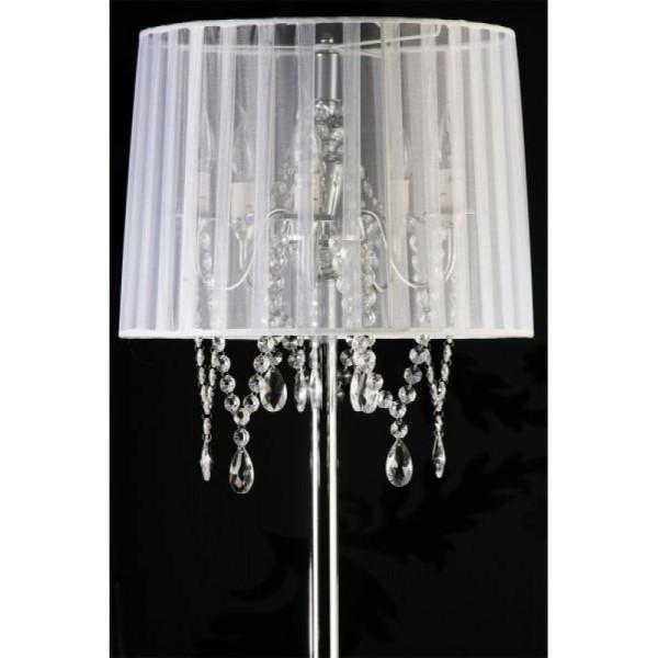 Klassieke vloerlamp wit