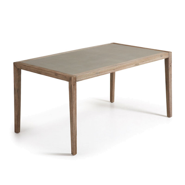 Tuintafel hout bruin 160 cm