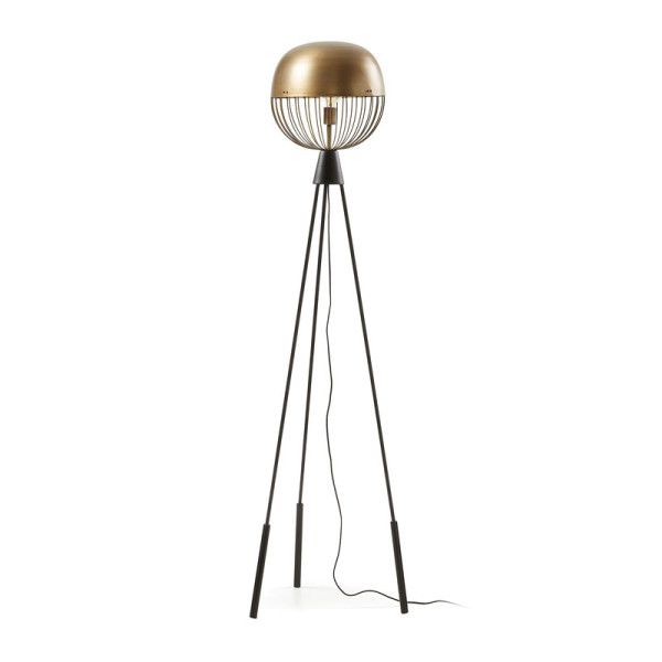Moderne vloerlamp rond